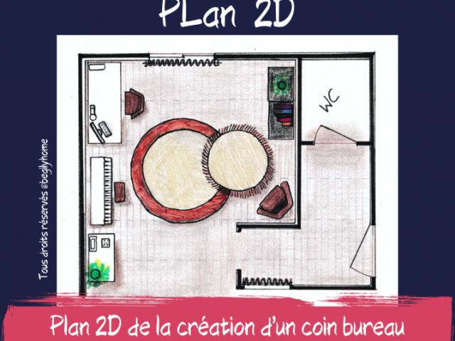 REALISATIONS DE MAQUETTES : CROQUIS D'INTERIEUR & PLAN 2D